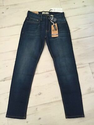 Next Mens/Boys Skinny Blue Denim Jeans Size 28S New With Tags