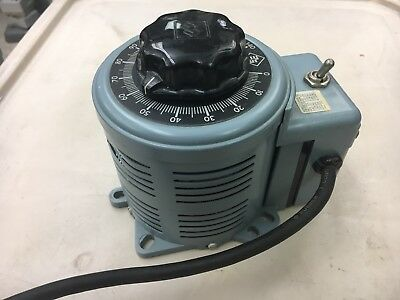 Superior Electric Variac Powerstat Variable Autotransformer 3PN116B 10 amp