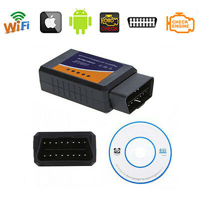 ✔Scanner Elm327 Obd-Ii Wifi Obd2 Odb2 Diagnosi Motore Ios Android Iphone Ipad Pc