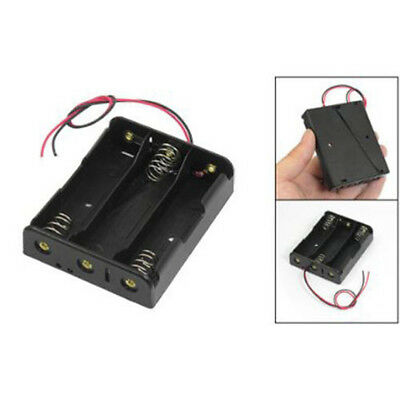 For 3x18650 3.7V With Wire Leads Plastic Battery Storage Box Holder BBC