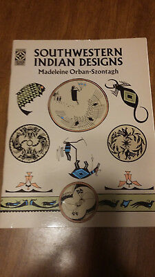 Book Southwestern Indian Designs By  Madeline Orban-Szontagh New