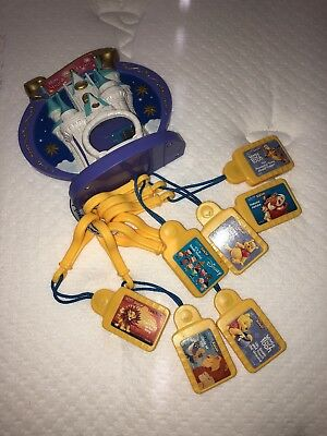 Disney Tunes KIDCLIPS Magical Musical Castle Player Works Great Comes w/ 7 Clips