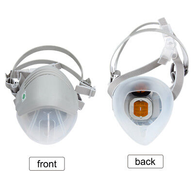 Reusable Chemical Anti-Dust Paint Respirator Welding Safety Industrial Mask UK