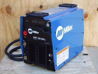 NEW Miller XMT 350 MPa MIG Pulsed Flux-Cored Stick Multiprocess Welder 907366002