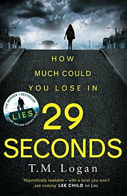 29 Seconds: If you loved LIES, try the new gripping twisty page-... by Logan, TM