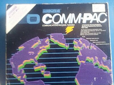 Vintage Osborne O-Comm-Pac Auto/dial Modem communications package