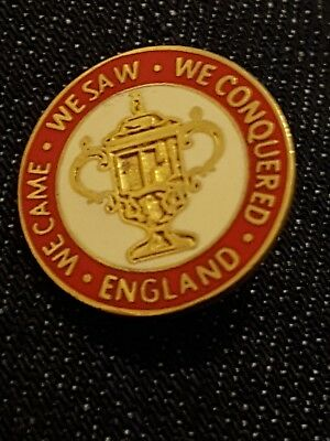 Rugby BADGE ENGLAND WORLD CUP WINNERS  2003 PIN