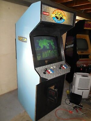 Street fighter 2 Champion Edition Arcade game Streetfighter