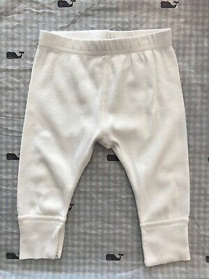 Hanna Andersson White Wiggle Pants Size 60