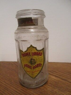 Vintage Home Brand Pure Honey Glass Jar - Griggs, Cooper & Co. - St. Paul, Minn