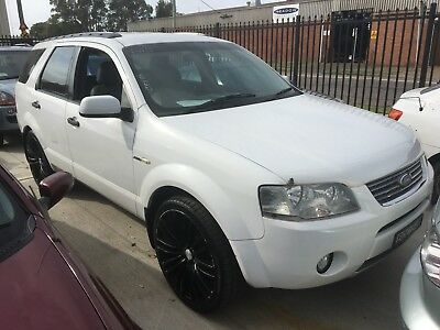 2007 Ford Territory Sy Ghia 4X4, Needs Work For Rego