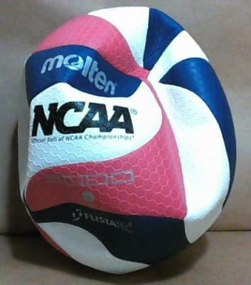 NEW Molten FLISTATEC Official NCAA Men's Volleyball, Red/White/Blue $100