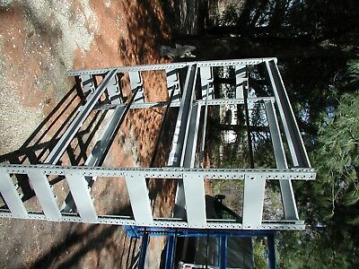"Lyons Wire and Cable Reel Rack  6 levels 84""H 65""W 18.5""D"