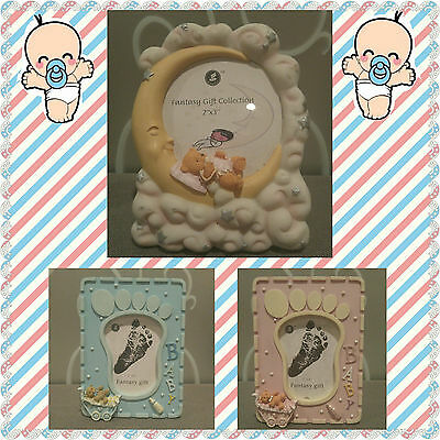 """New Ceramic Baby Picture Frame 2""""x3"""" ***YOU CHOOSE***"""