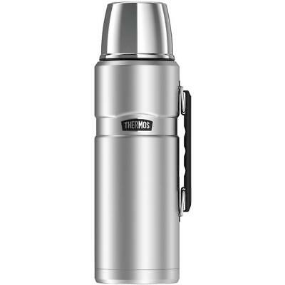 Thermos SK2020STTRI4 Stainless King Vacuum-Insulation Beverage Bottle, 2L,...