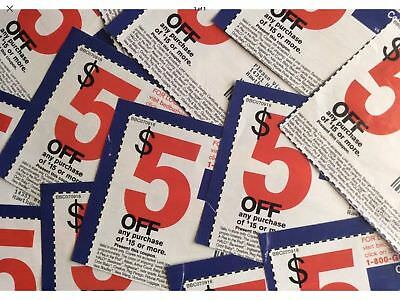 Bed Bath and Beyond coupons ~ LOT OF 9 !!  $5 OFF $15