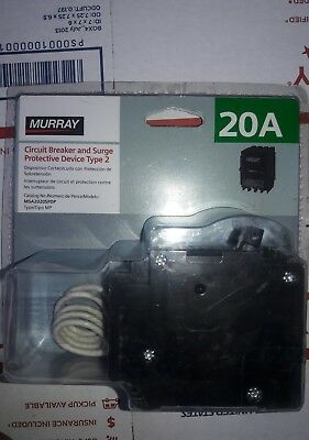 Murray Msa2020Spdp = Siemens Qsa2020Spdp  Surge Protection Circuit Breaker