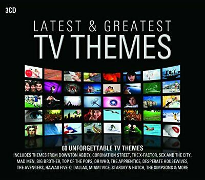Various - Latest And Greatest TV Themes - Various CD 5IVG The Cheap Fast Free