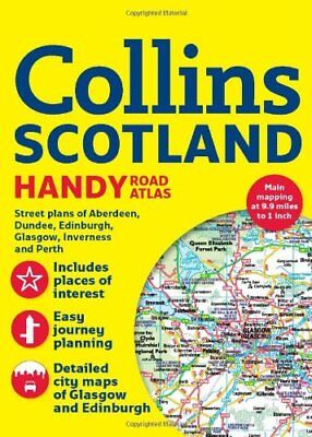 Collins Handy Road Atlas Scotland (International Road Atlases) by Collins Maps