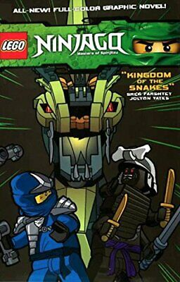 Lego Ninjago Vol.5 - Kingdom of the Snakes by Jolyon   Yates Book The Cheap Fast