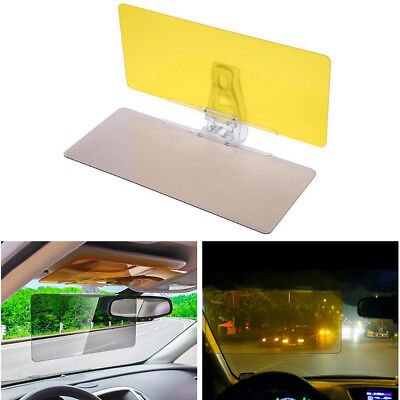 2in1 Car Transparent Anti-glare Glass Car Sun Visor Extender F Day Night Driving