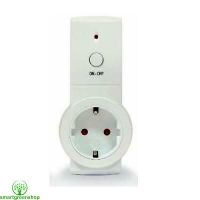 Efergy Single Remote Controlled Sockets EU 2 Pin Schuko Version - 3 Sockets
