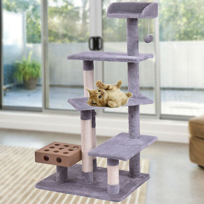 Cat Tree Condo Furniture Scratching Post Kitten Tower Pet Play House