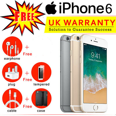 Apple iPhone 6 16GB 32GB 64GB 128GB Unlocked Smartphone & All Accesories