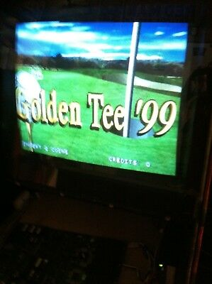 Golden Tee 99 By Incredible Technoligies Pcb Game Arcade