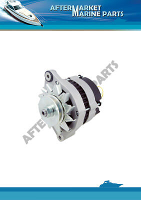 Volvo Penta alternator 60 AMP, 12V replaces: 3803260, 841765, 858838, 872018..