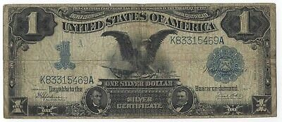 1899 $1 Black Eagle VG+ Note