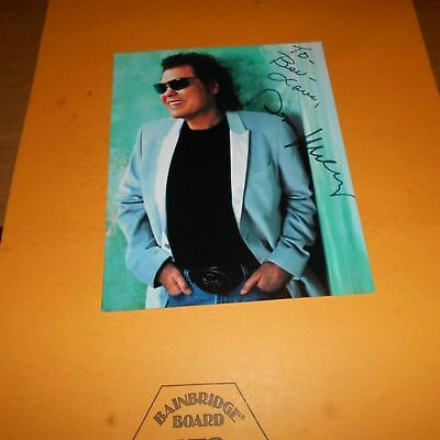 Ronnie Milsap is an American country music singer and pianist Hand Signed Photo