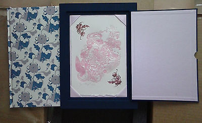 JAMES JEAN ZUGZWANG   SIGNED LETTERPRESS Print  - SLIPCASE special edition