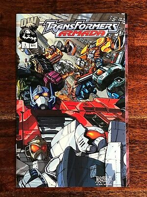 Transformers Armada (2002 DW) Energon #1 VF NM