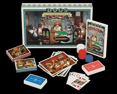 Dogs Playing Poker by Friedman, Stan Book The Cheap Fast Free Post
