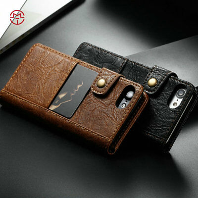 Luxury CaseMe Leather Wallet Card Holder Case Cover for iPhone SE 6 7 8 X Max Xr