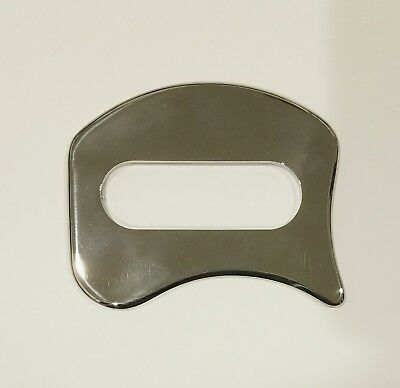 IASTM, gua sha, myofascial tool. Stainless steel. Compare to the Fibroblaster