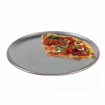 """American Metalcraft CTP12 Aluminum Coupe Style 12"""" Pizza Pan"""