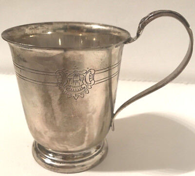 Vintage Sterling Silver English Cup