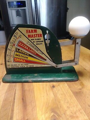 Vintage Farm Egg Scale FARM MASTER