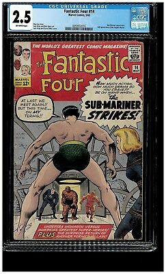 Fantastic Four #14 (May 1963, Marvel)