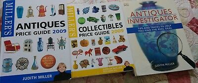 Lot Of Judith Miller Antique And Price Guide Books.