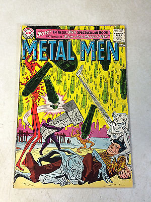 Metal Men #1 Key Issue, 5Th Appearance, 1963, Missile Men, Ross Andru