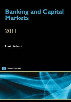 Banking and Capital Markets 2012 by Adams, David Book The Cheap Fast Free Post