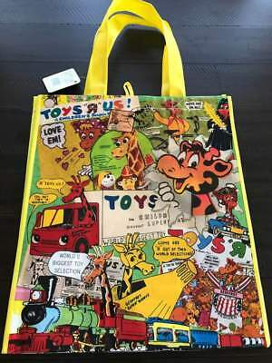 Brand New Toys R Us Geoffrey Vintage Reusable Bag/tote - Yellow