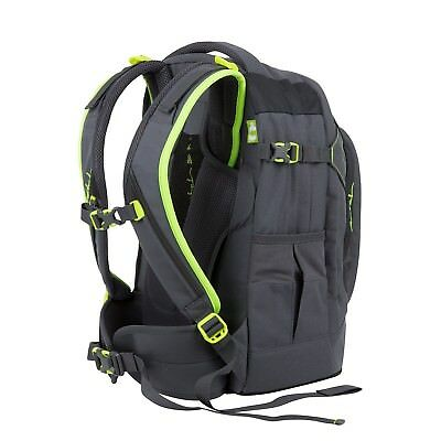 Satch School Backpack Pack Synthetics 30.0 l one size Grey|Yellow