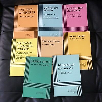 Lot of 8 Dramatists Play Service Scripts Acting Comedy Drama Theater