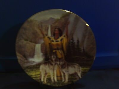 1996 Artist Signed - Native American Plate - Hamilton Collection