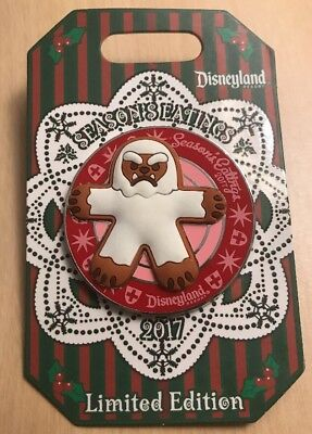 Disney Season's Eatings Pin YETI MATTERHORN 2017 Gingerbread Disneyland LE 3000