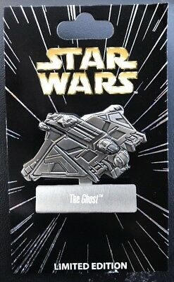 Disney Star Wars Pin of the Month Vehicles: Ghost Ship LE 6000 Pin NEW IN HAND